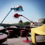 Déco vintage et style industriel (ci-dessus des lampes Jieldé) – Journal de déco