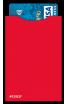 Des protège carte bancaire Kokoon colorés (rouges par exemple)